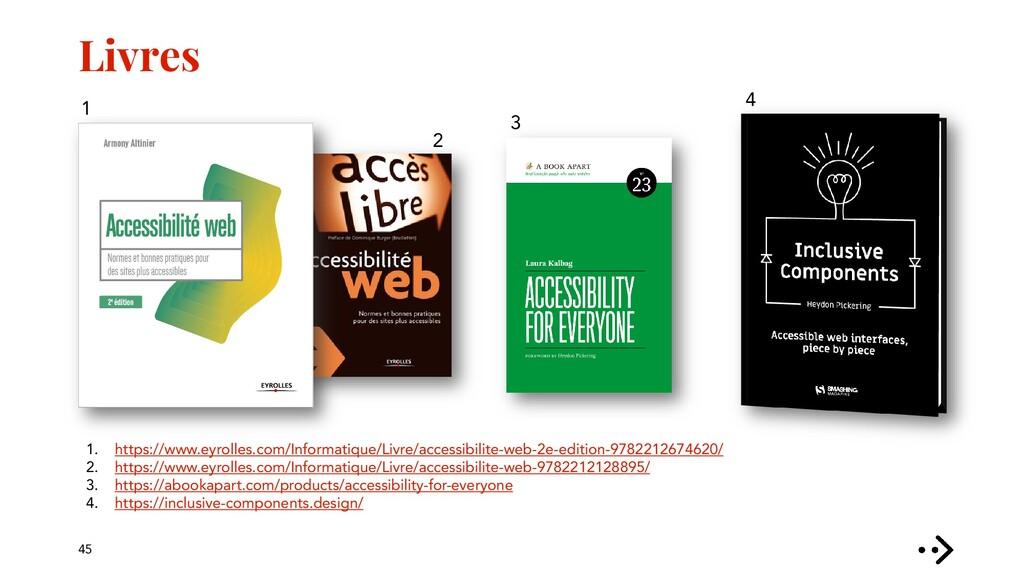 Livres 45 1. https://www.eyrolles.com/Informati...