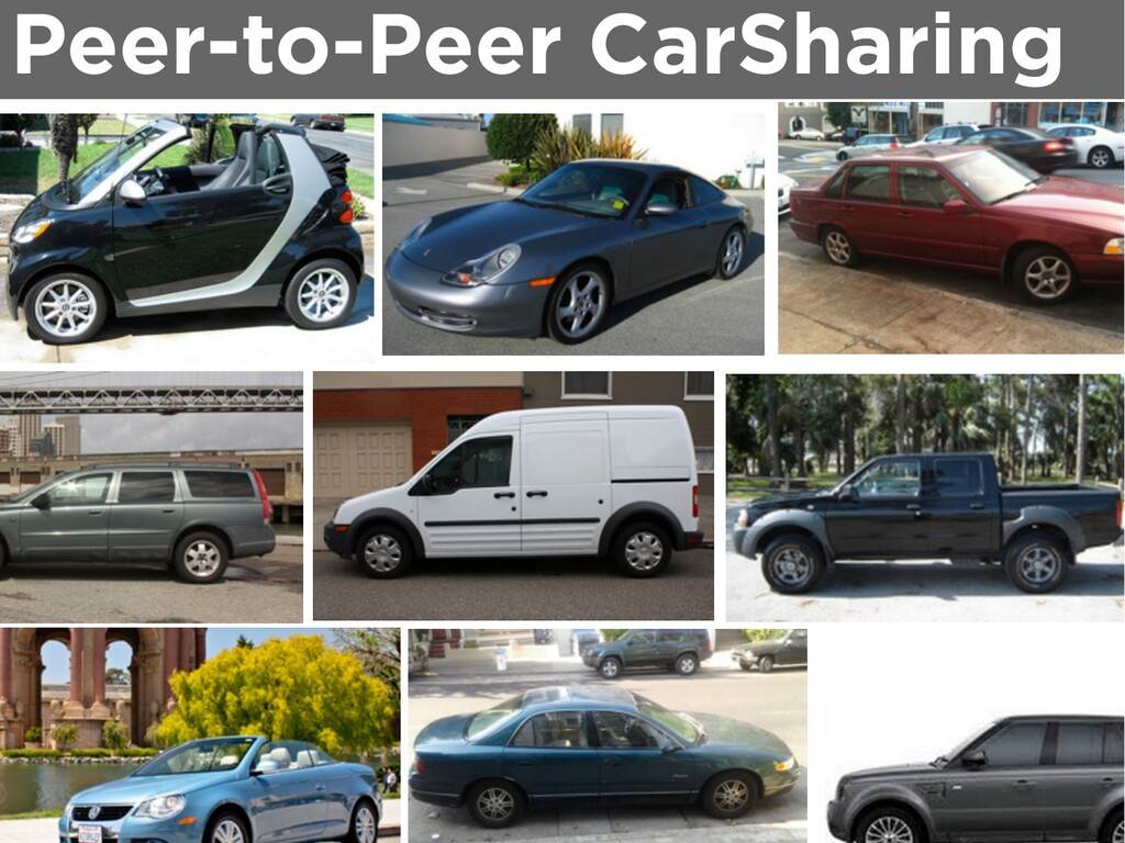 Peer-to-Peer CarSharing