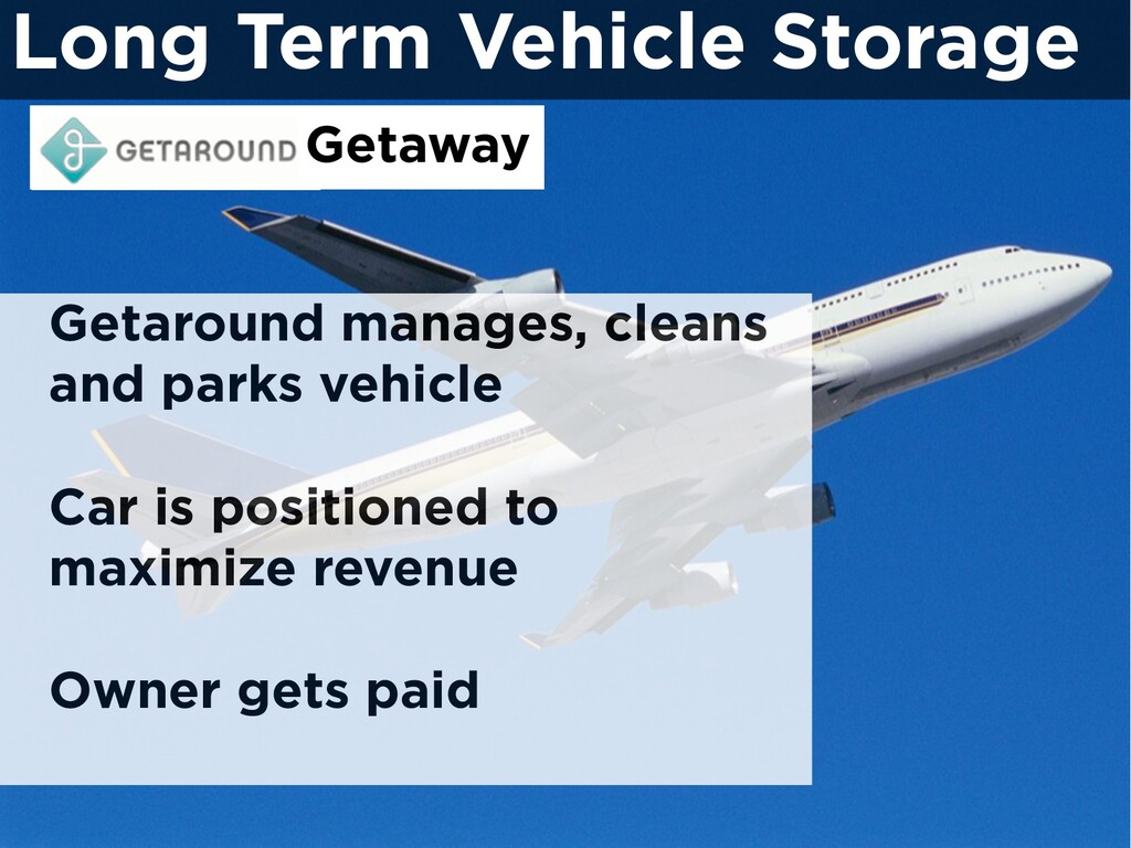 Getaround manages, cleans and parks vehicle Car...