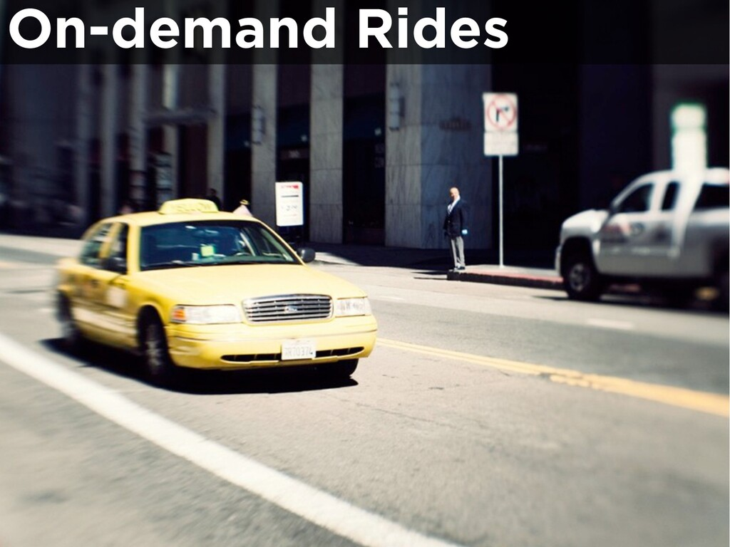 On-demand Rides