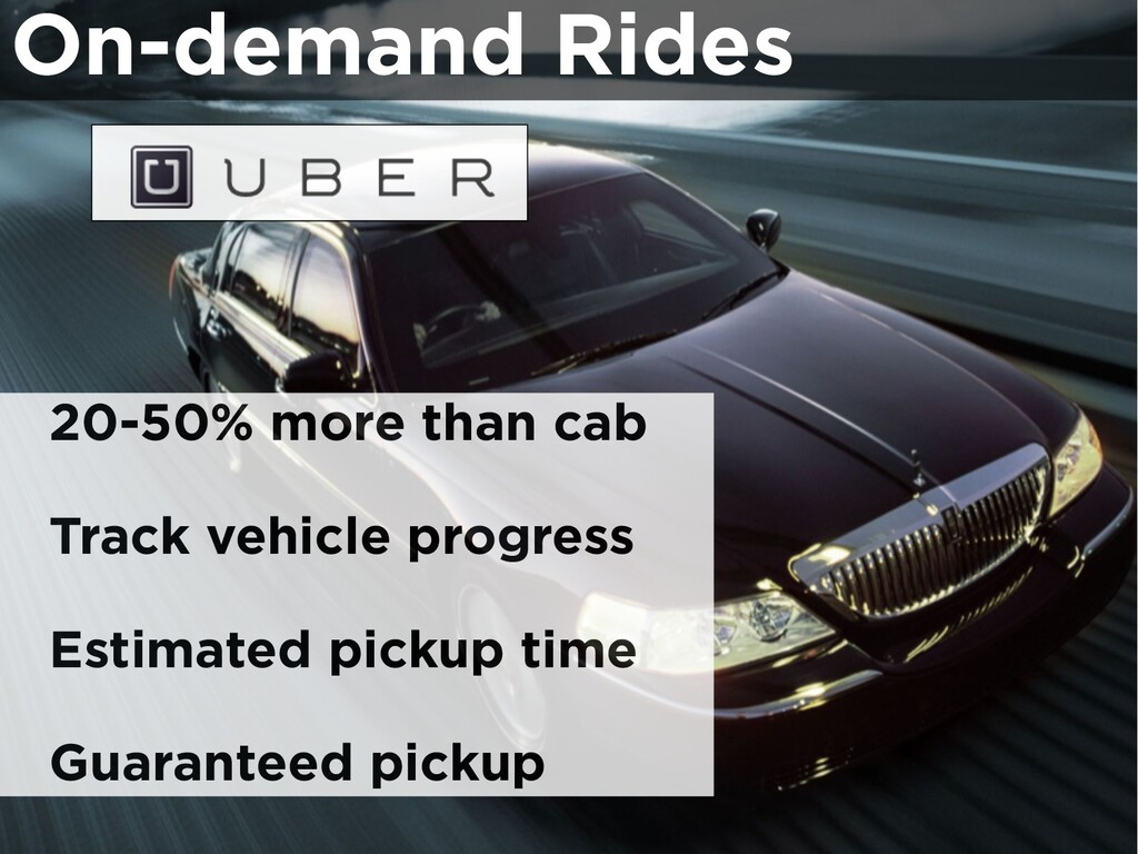 On-demand Rides 20-50% more than cab Track vehi...