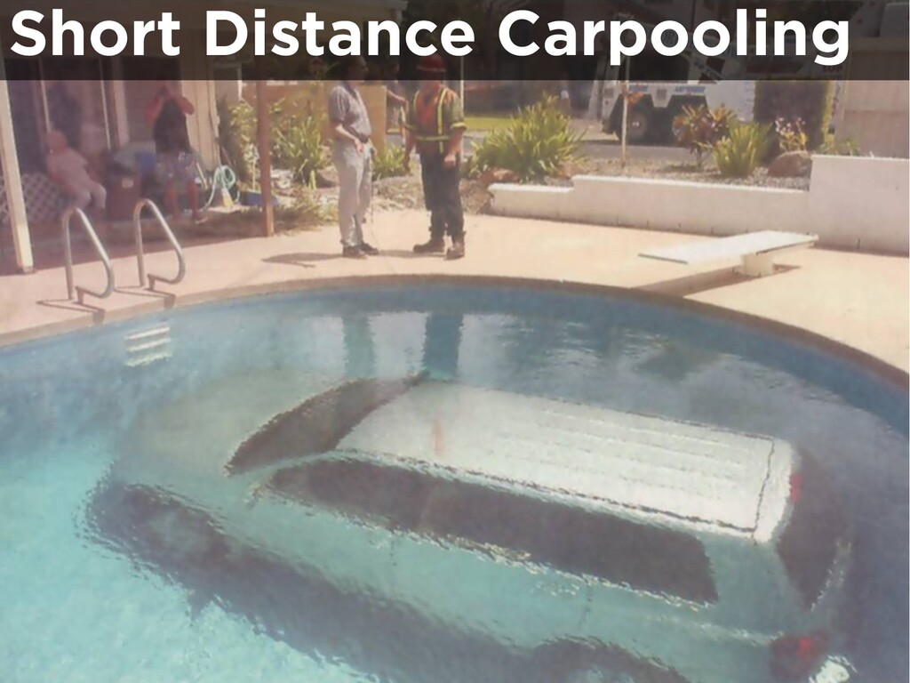 Short Distance Carpooling