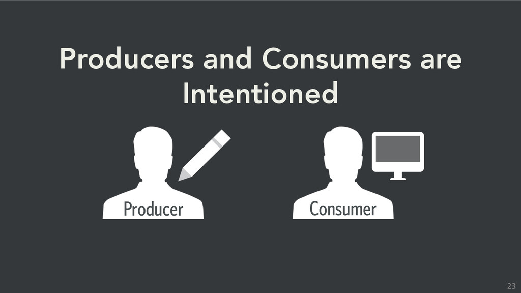 Producer Consumer Producers and Consumers are I...