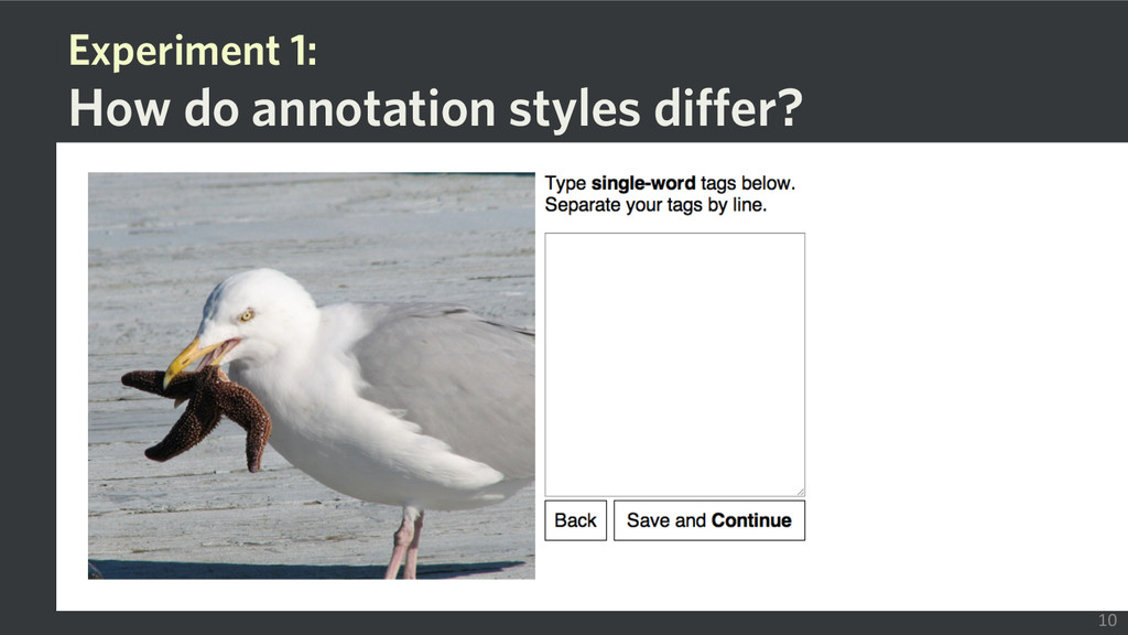 Experiment 1: How do annotation styles differ? ...