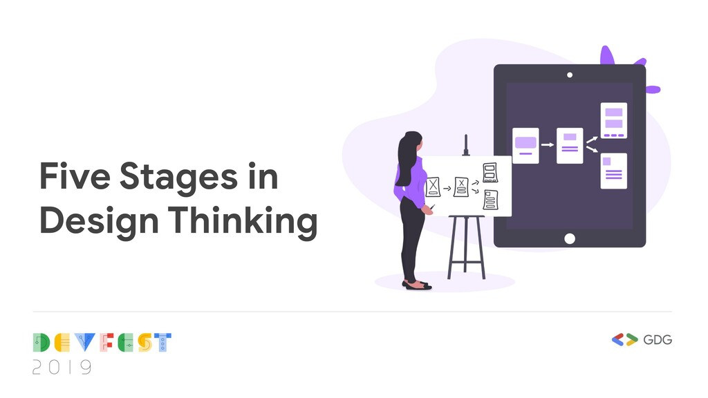 Five Stages in Design Thinking
