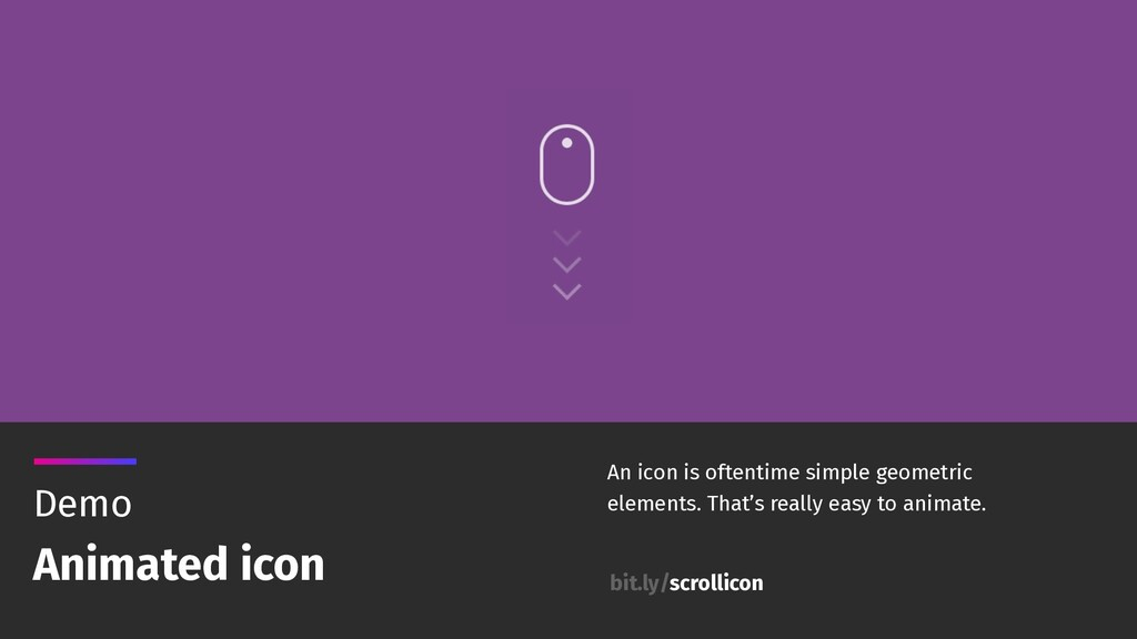 Demo Animated icon An icon is oftentime simple ...