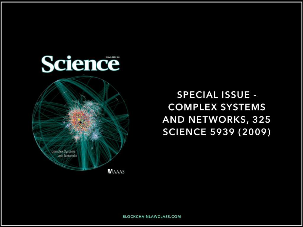BLOCKCHAINLAWCLASS.COM SPECIAL ISSUE - COMPLEX ...