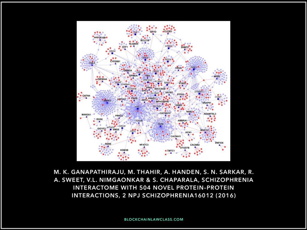 BLOCKCHAINLAWCLASS.COM M. K. GANAPATHIRAJU, M. ...