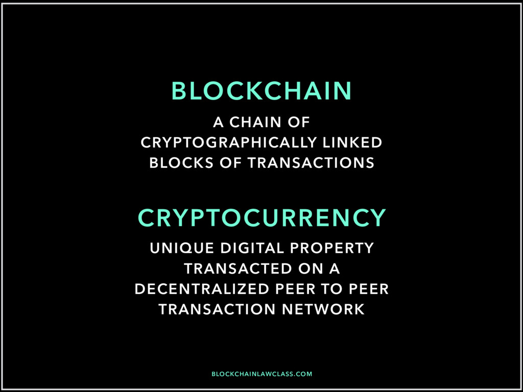 BLOCKCHAINLAWCLASS.COM BLOCKCHAIN CRYPTOCURRENC...