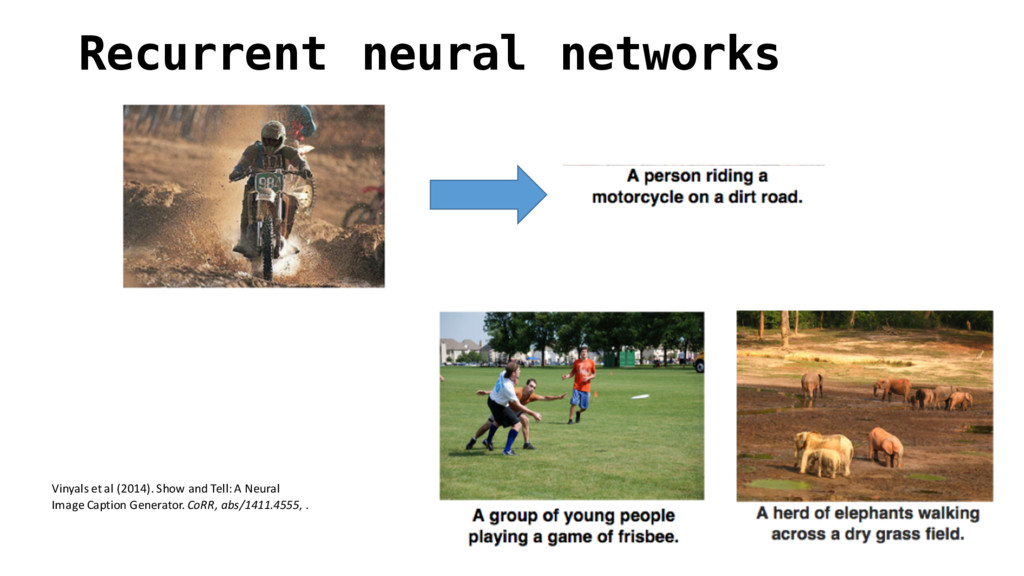 Recurrent neural networks Vinyals et al (...