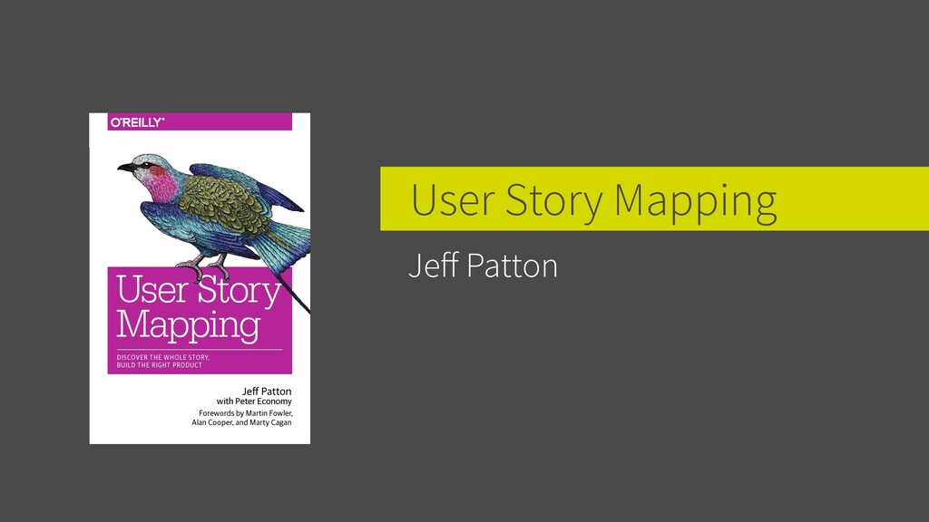 User Story Mapping Jeff Patton