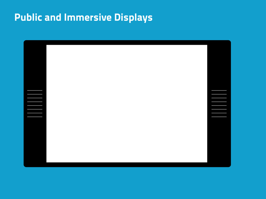 Public and Immersive Displays
