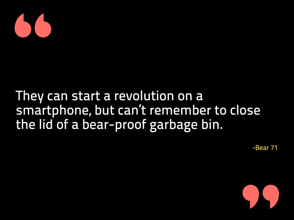 They can start a revolution on a smartphone, bu...
