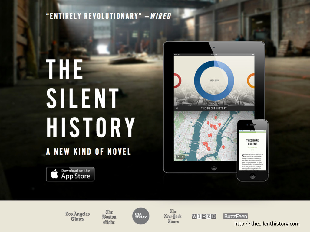 Silent History/other http://thesilenthistory.com