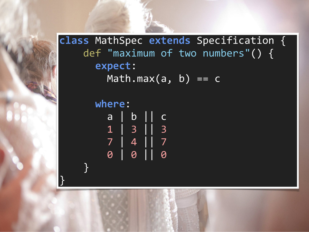 class MathSpec extends Specification...