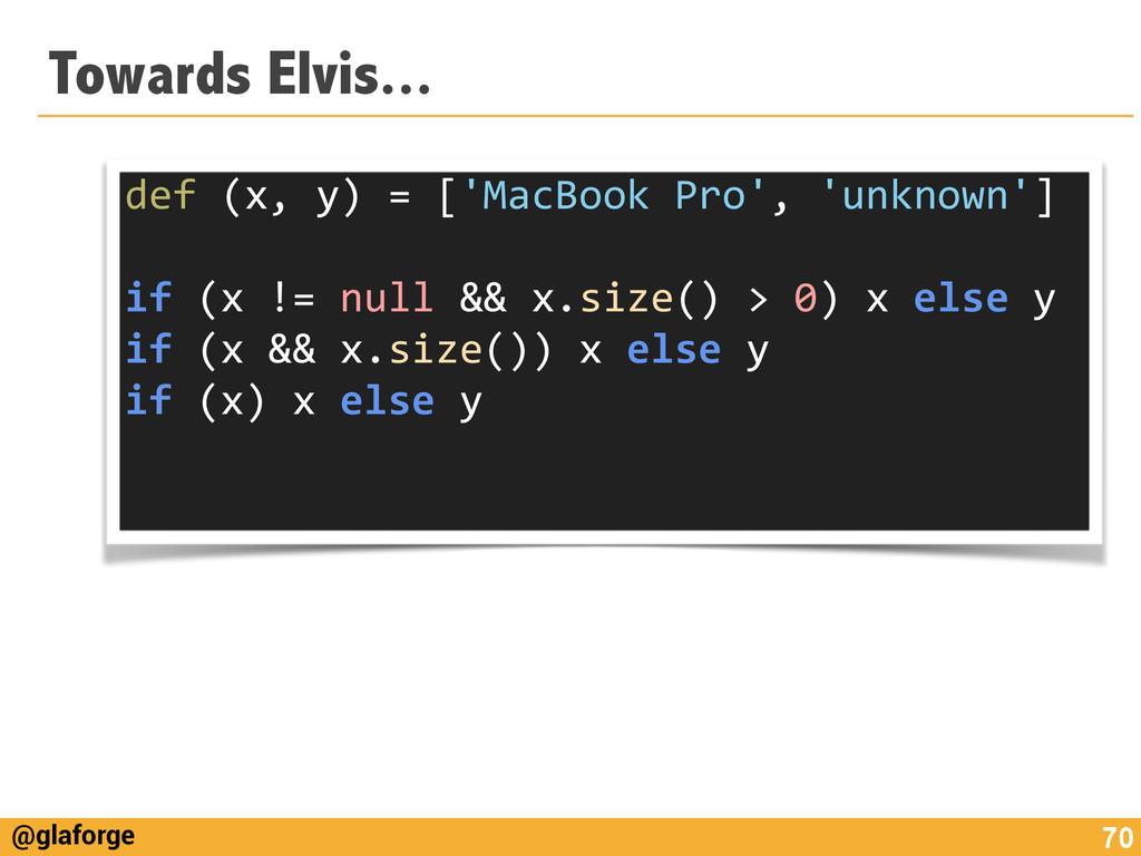 @glaforge Towards Elvis... 70 def (x, y)...
