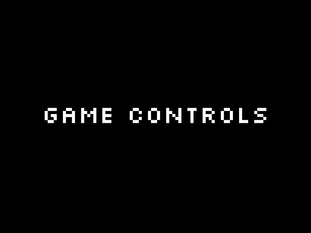Game controls