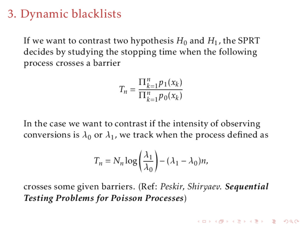 3. Dynamic blacklists If we want to contrast tw...