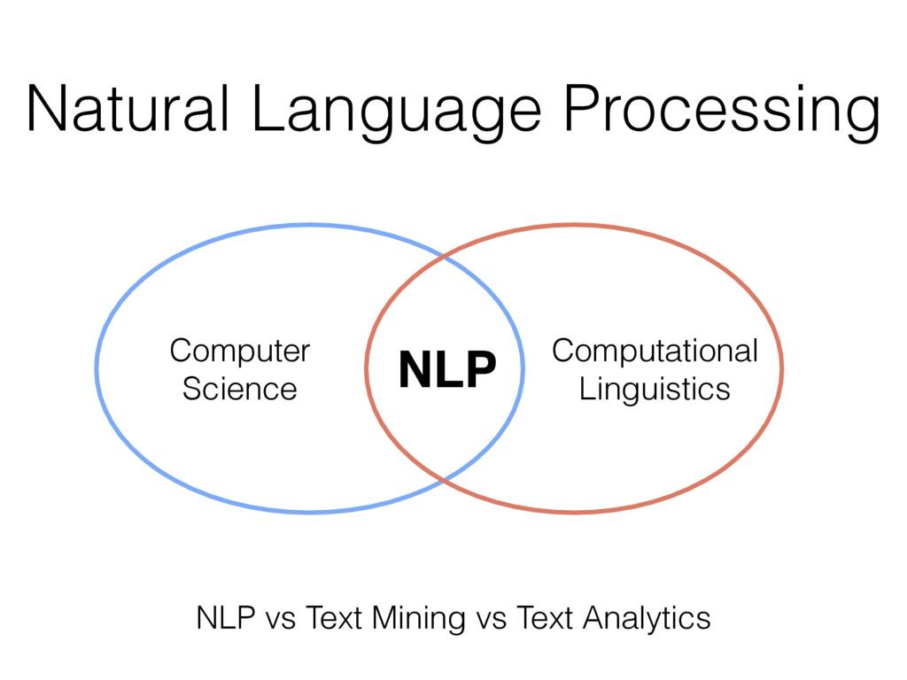 Natural Language Processing Computational Ling...
