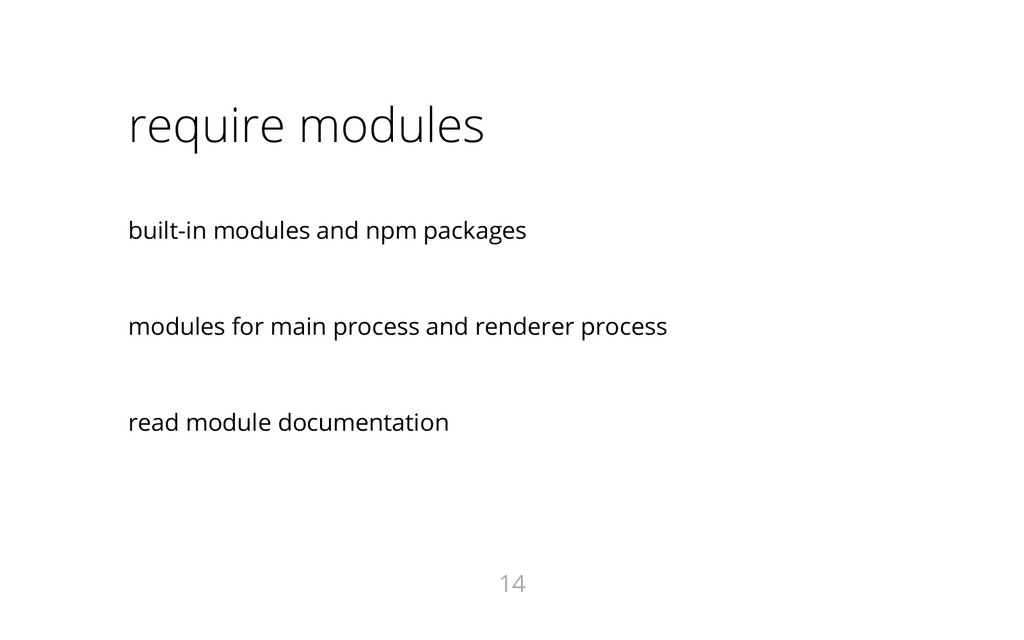 require modules built-in modules and npm packag...