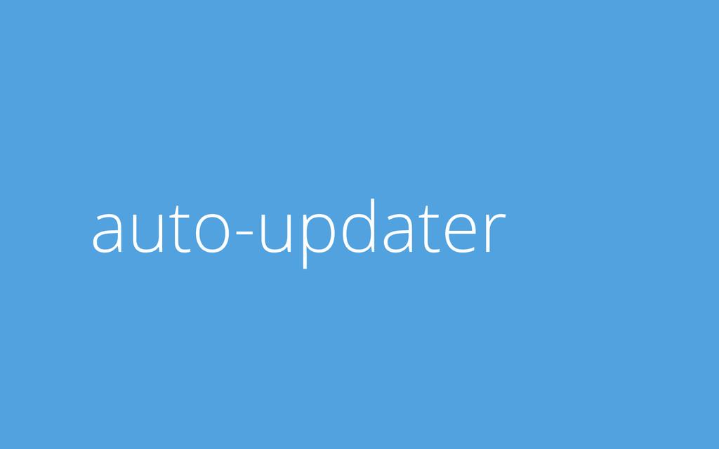 auto-updater
