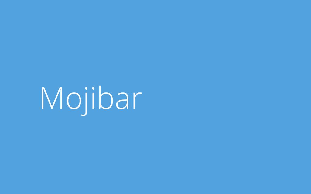 Mojibar