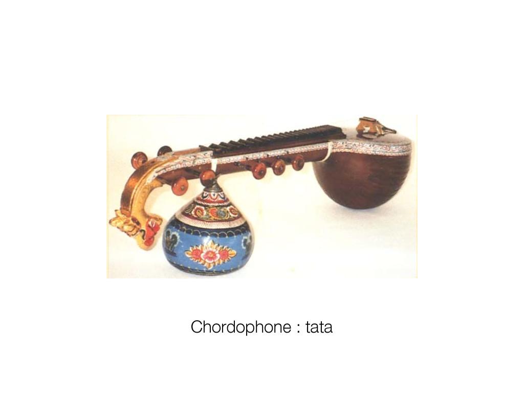 Chordophone : tata