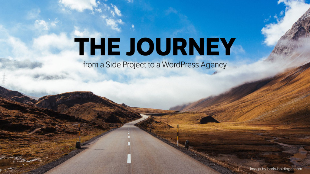 THE JOURNEY from a Side Project to a WordPress ...