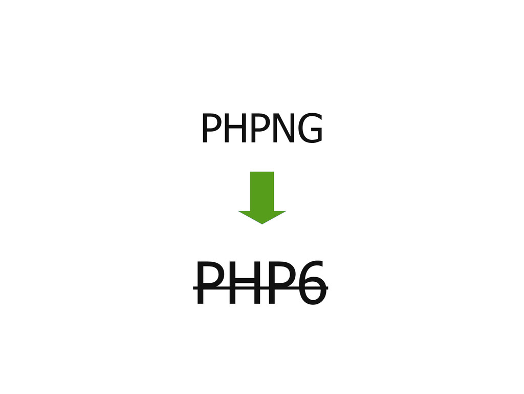 PHP6 PHPNG