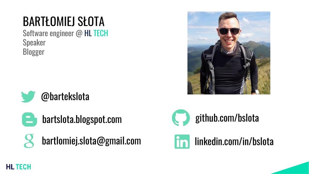 @bartekslota bartslota.blogspot.com github.com/...