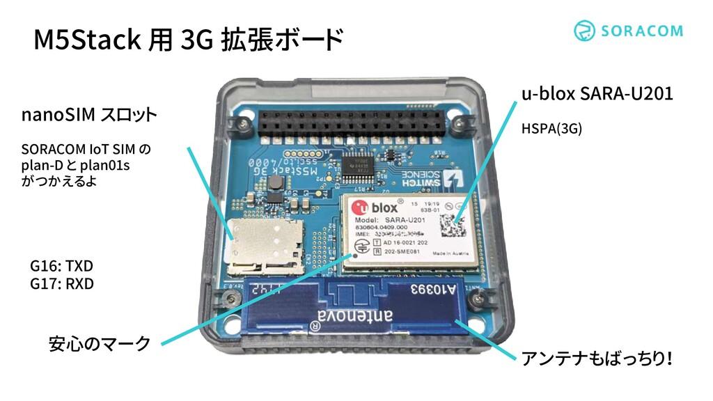 nanoSIM スロット SORACOM IoT SIM の plan-D と plan01s...