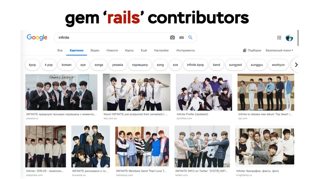 gem 'rails' contributors