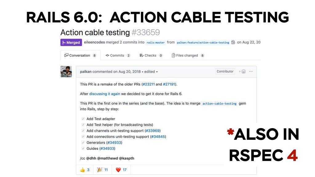 RAILS 6.0: ACTION CABLE TESTING *ALSO IN RSPEC 4