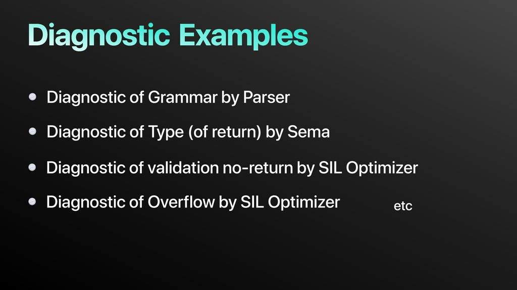Examples Diagnostic of Grammar by Parser Diagno...