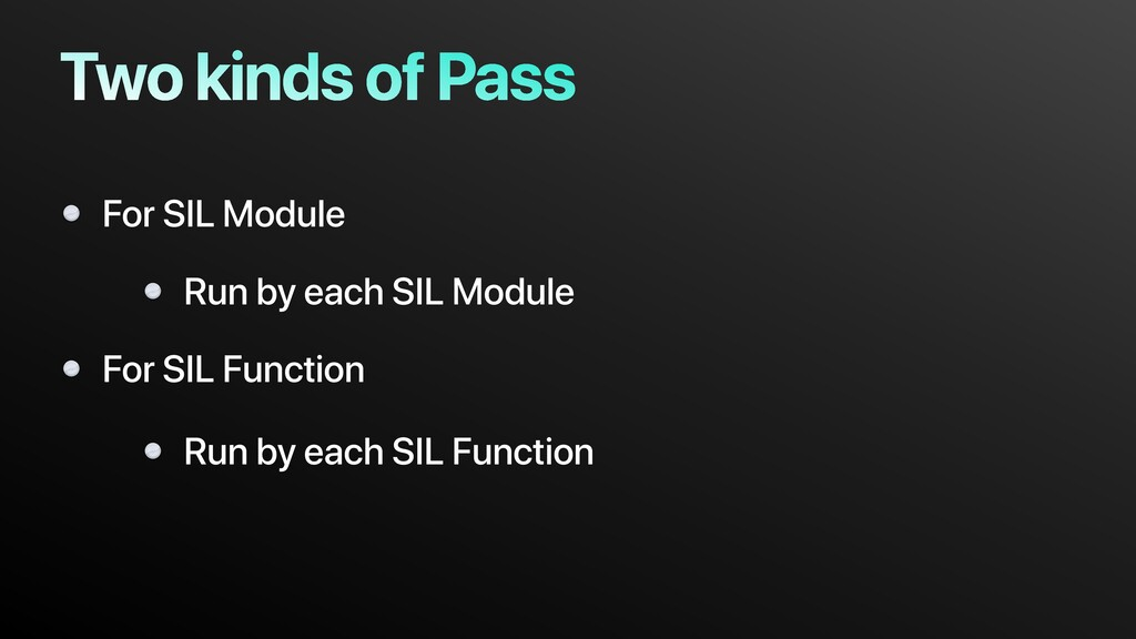 Two kinds of Pass For SIL Module For SIL Functi...