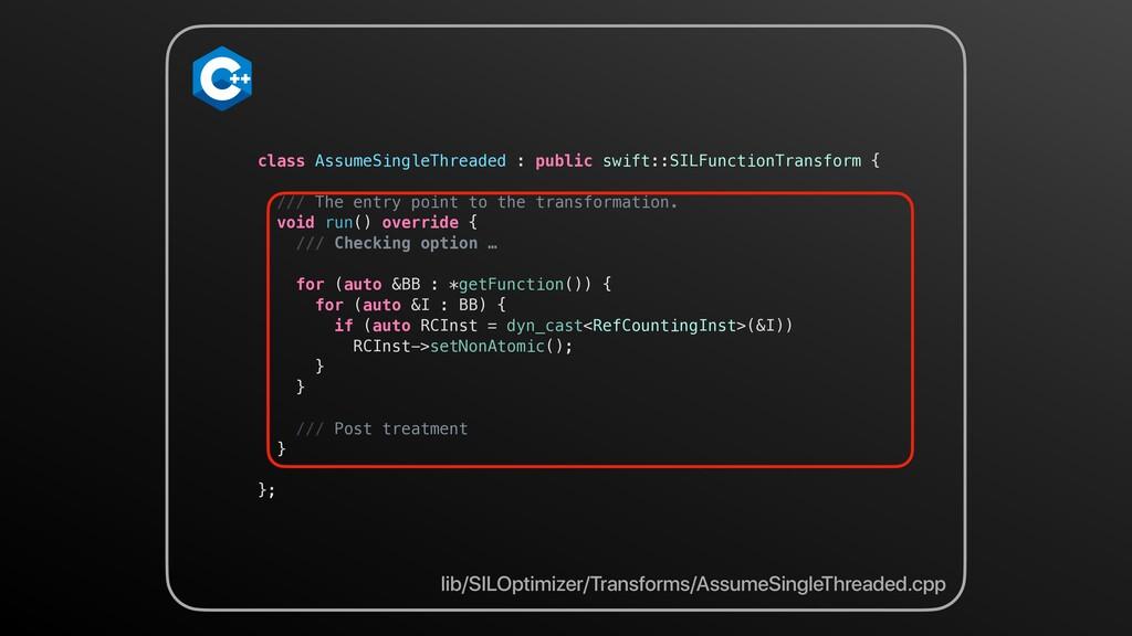 lib/SILOptimizer/Transforms/AssumeSingleThreade...