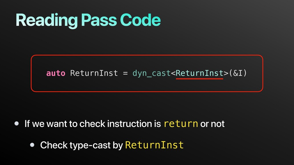 Reading Pass Code If we want to check instructi...