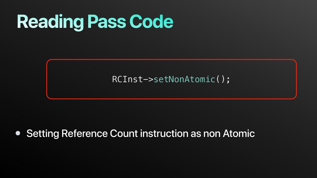 Reading Pass Code Setting Reference Count instr...