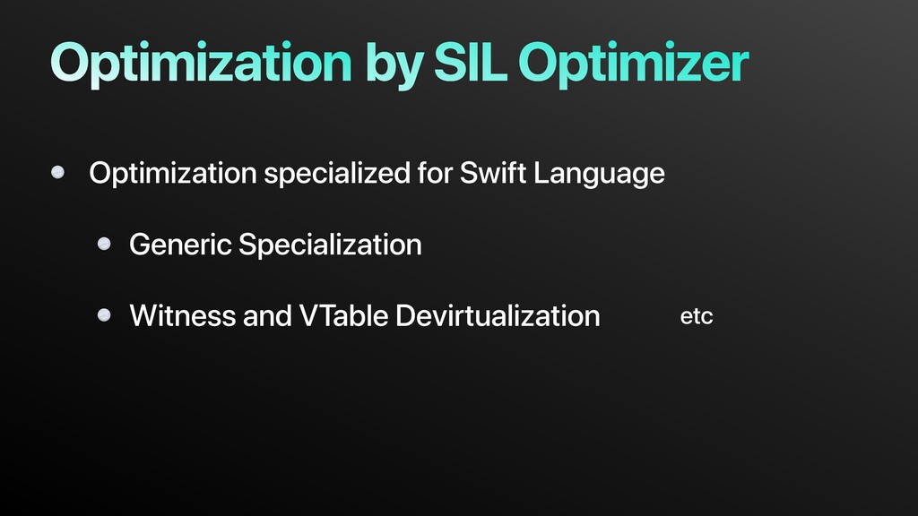 by SIL Optimizer Optimization specialized for S...
