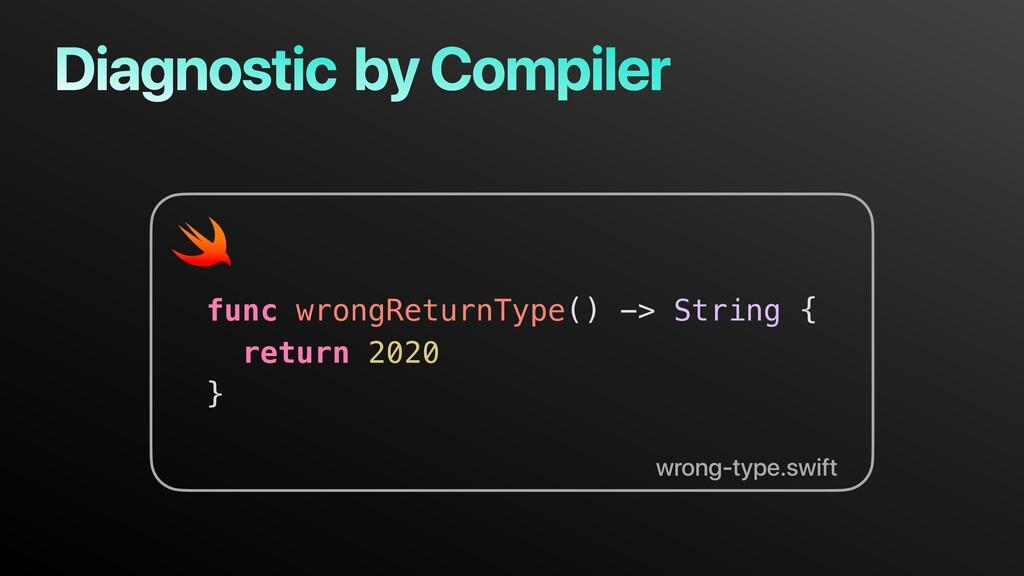 func wrongReturnType() -> String { return 2020 ...