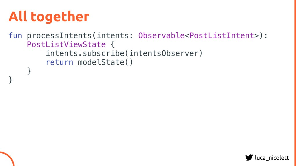 luca_nicolett All together fun processIntents(i...