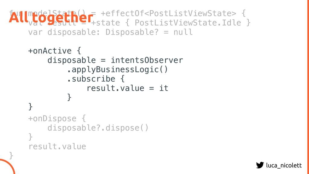 luca_nicolett fun modelState() = +effectOf<Post...