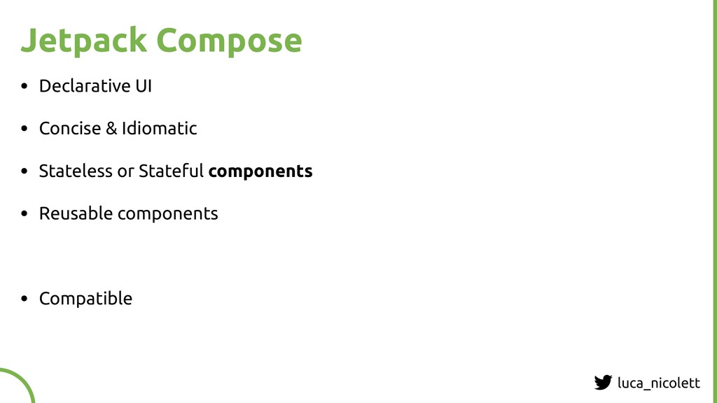luca_nicolett Jetpack Compose • Declarative UI ...