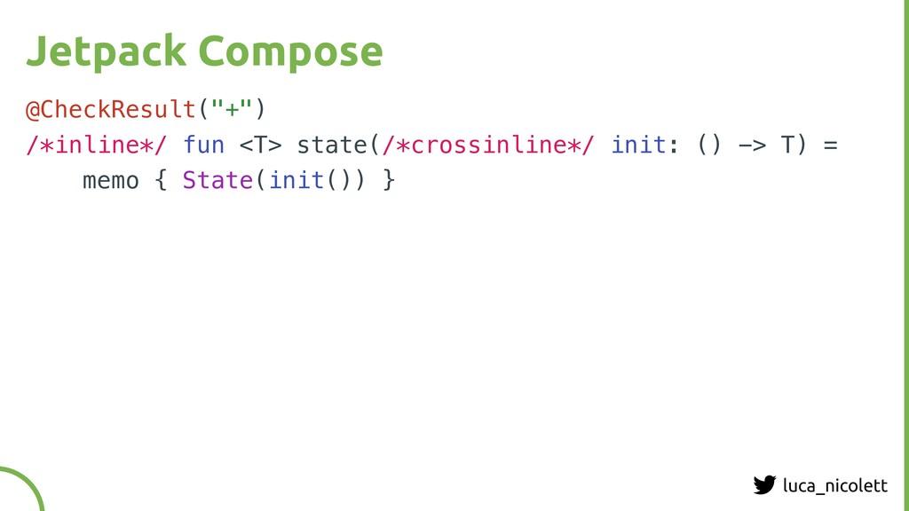 """luca_nicolett Jetpack Compose @CheckResult(""""+"""")..."""