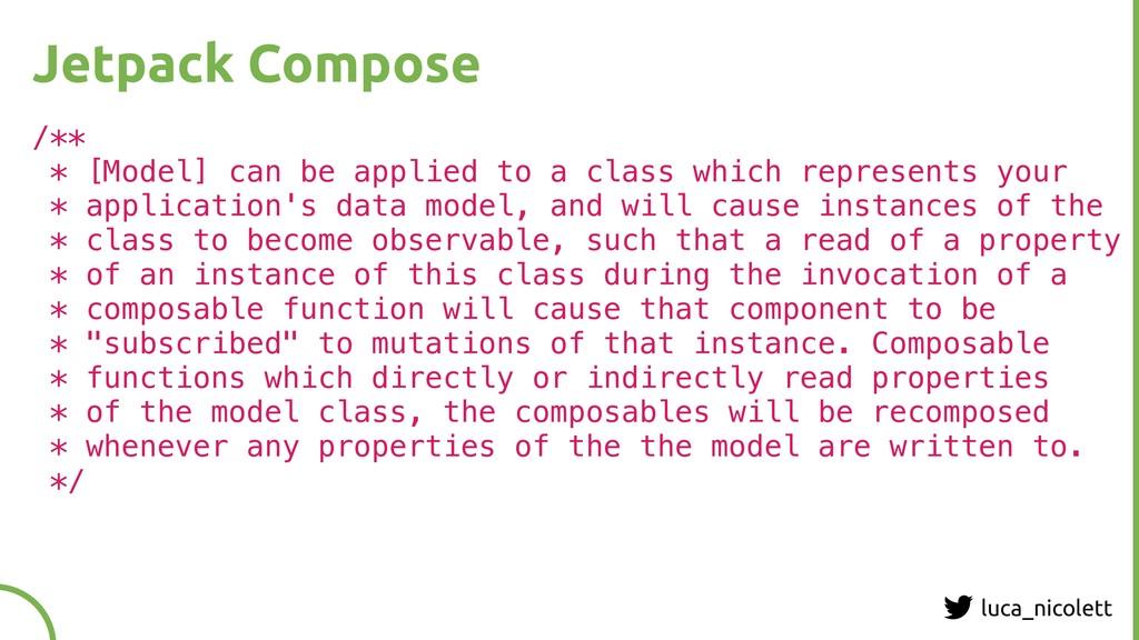 luca_nicolett Jetpack Compose /** * [Model] can...