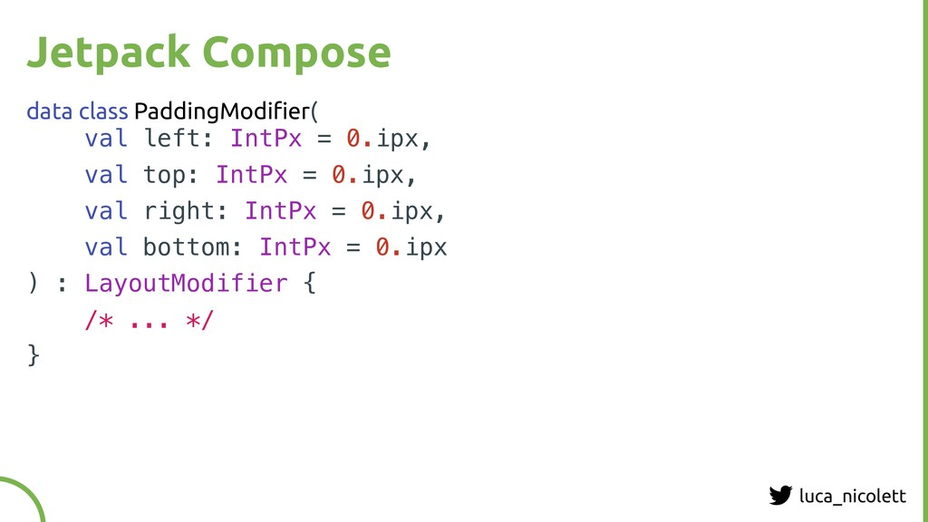 luca_nicolett Jetpack Compose data class Paddin...