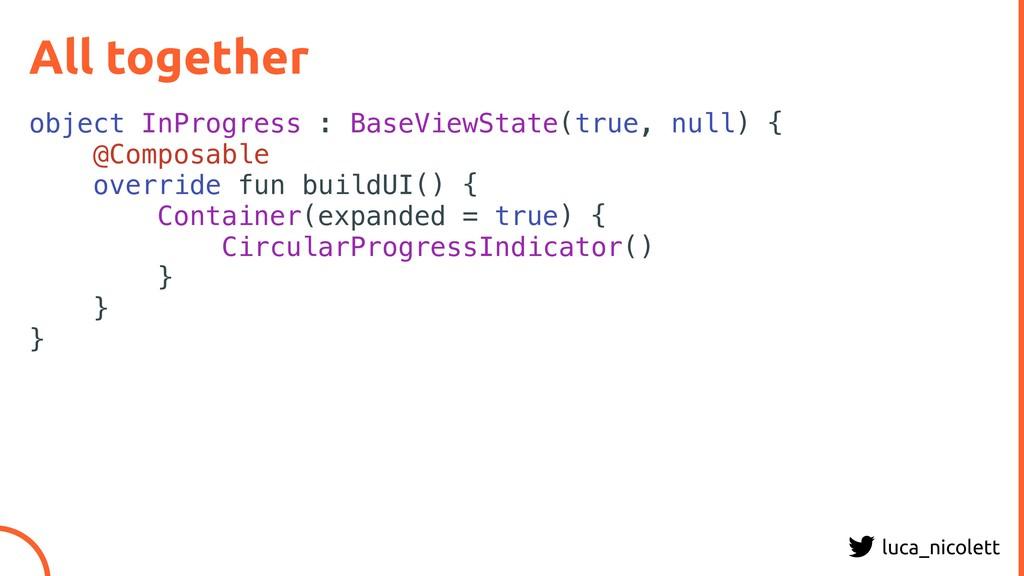 luca_nicolett All together object InProgress : ...