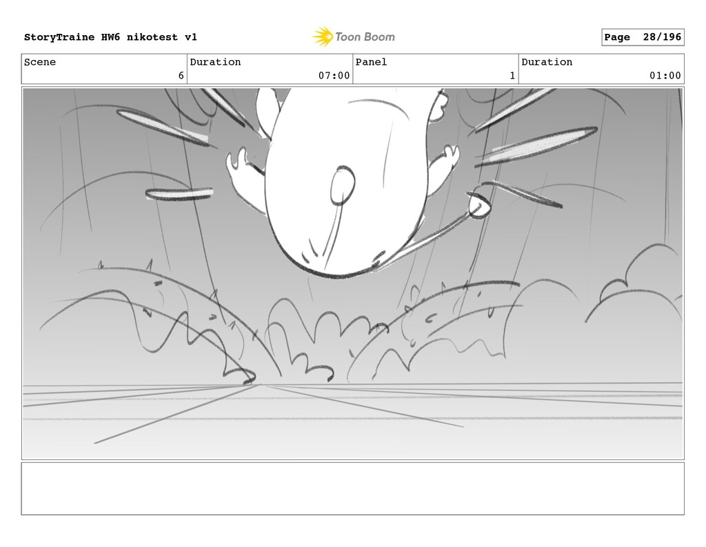 Scene 6 Duration 07:00 Panel 1 Duration 01:00 S...