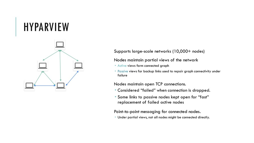 HYPARVIEW Supports large-scale networks (10,000...