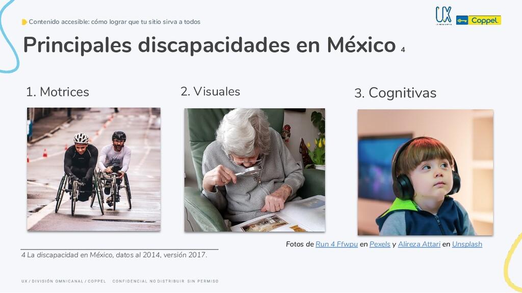 1. Motrices Principales discapacidades en Méxic...